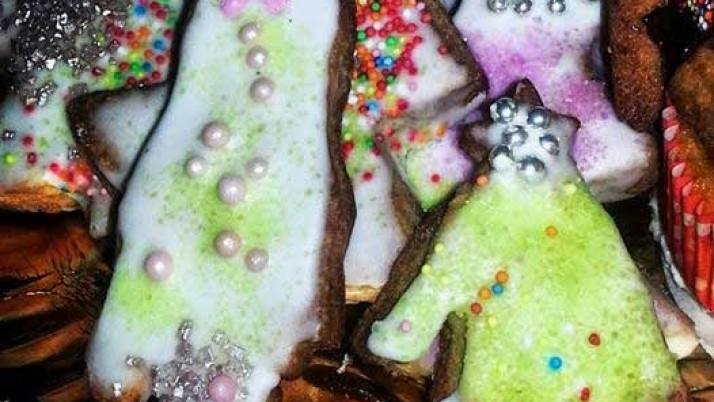 Biscottini di Natale con Mani e Piedi
