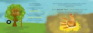 """Estratto di pagine dal Libro per Bambini """"""""Le Avventure dell' Uovo KOK"""""""" di Nunzia Bruno."""