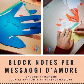 Block Notes per Messaggi d'Amore