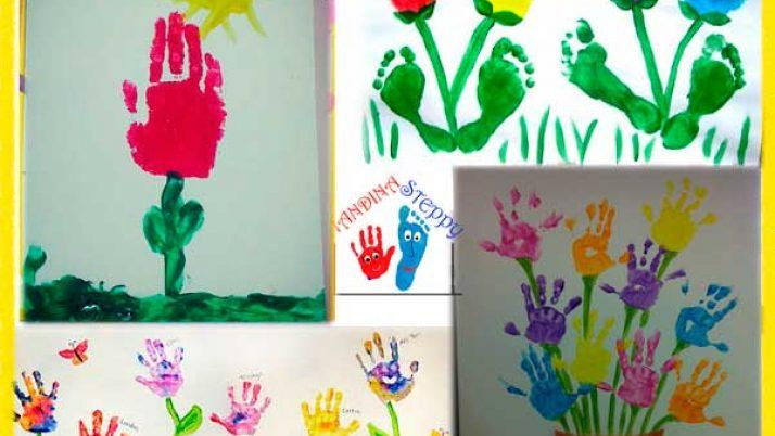 4 Idee per realizzare dei Fiori colorati