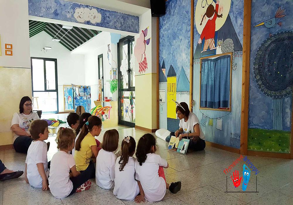 """Lettura del Libro """"Il Topolino Melino Va Cantando"""" con Nunzia Bruno presso il Centro per l'Infanzia """"I Sogni del Bambino"""" a Conegliano Veneto (TV)"""