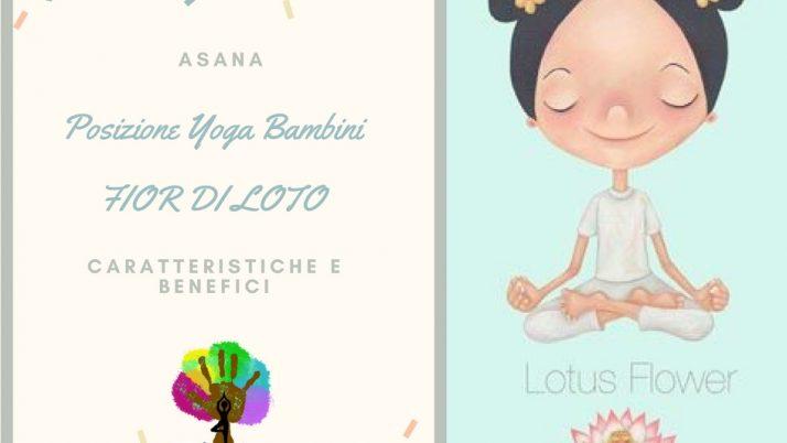 Asana Fior di Loto nello Yoga per Bambini