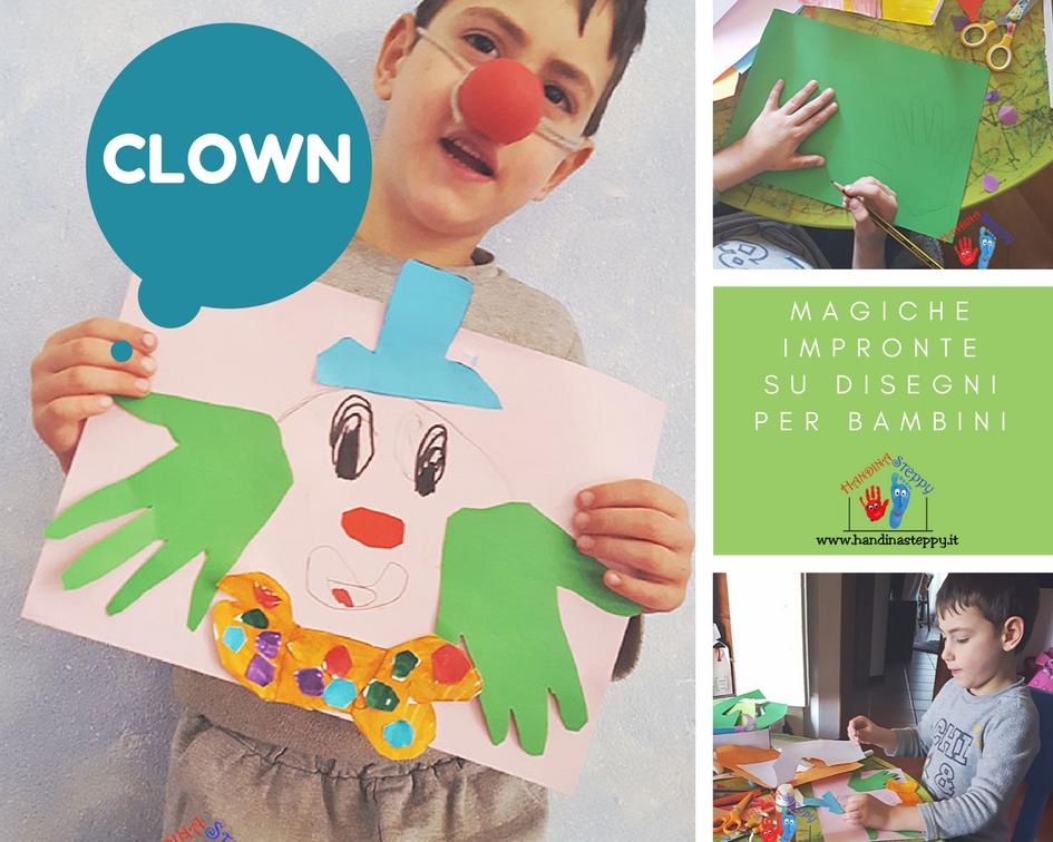clown impronte bambini