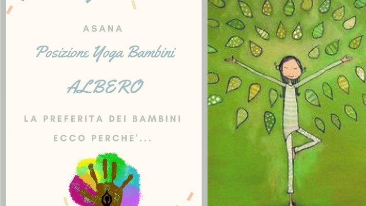 Albero – la posizione Yoga preferita dai bambini