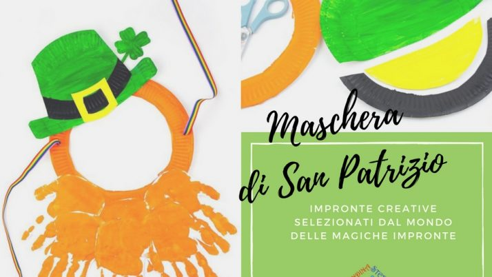 Maschera LEPRECHAUN – Impronte della festa di San Patrizio