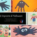 Lavoretti Halloween per bambini con Impronte