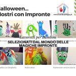 Halloween - mostri con Impronte