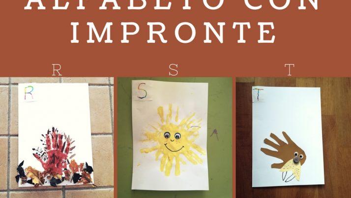 Imparare le Lettere Alfabeto con Impronte-R S T