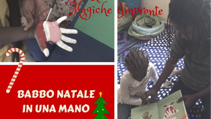 Babbo Natale nelle mani del Senegal-Bambini creativi
