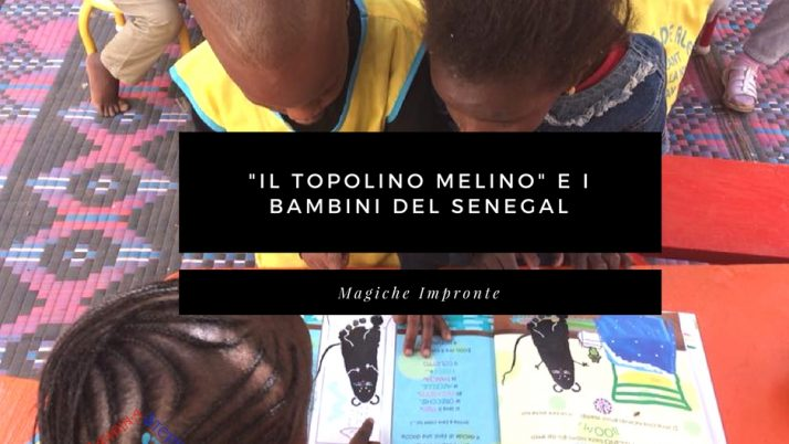 Il topolino Melino – compagno dei bambini del Senegal