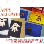 Fantasmi e Ragni con Impronta - Halloween e bambini