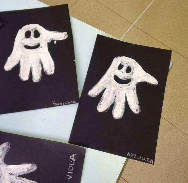 fantasma con impronta
