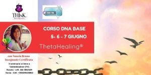 Theta Healing ® seminario DNA BASE – Nunzia Bruno – Giugno 2020