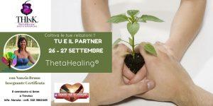 Seminario Theta Healing® TU E IL PARTNER – Nunzia Bruno – Settembre 2020