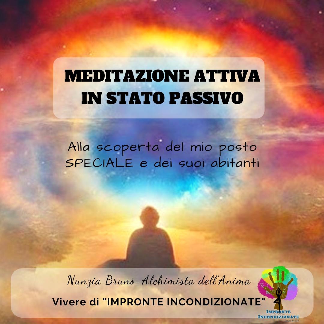 Vi propongo una Meditazione Attiva in questo periodo di passività. Andiamo ad esplorare il nostro mondo interiore ed i suoi abitanti.