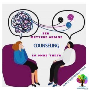Il Counselor aiuta chi si trova in un momento di incertezza e difficoltà.Ti accompagno con l'ascolto e mettendo in atto delle tecniche energetiche apposite.
