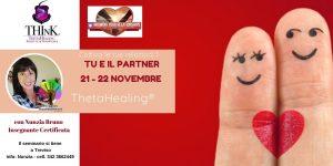 Seminario Theta Healing® TU E IL PARTNER – Nunzia Bruno – Novembre 2020
