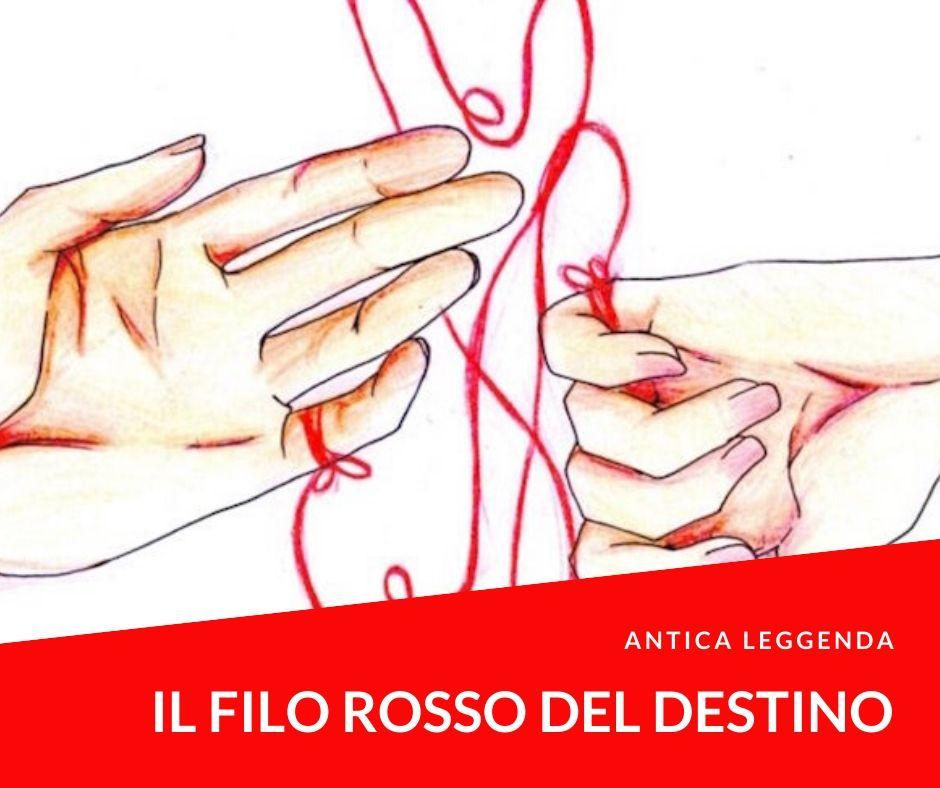 """Il """"filo rosso del destino"""",una leggenda giapponese che parla d'amore. Nulla è un caso ed ancora meno lo sono le persone destinate ad incontrarsi ed amarsi."""
