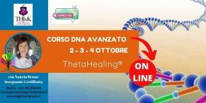 Theta Healing®  On-Line – seminario-Dna Avanzato – Nunzia Bruno – Ottobre – 2020